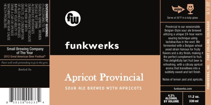 Funkwerks Apricot Provincial