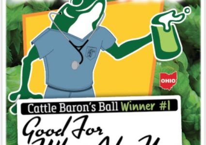 Hoppin' Frog Cattle Baron's Ball Winnter Good For What Ales You Double IPA