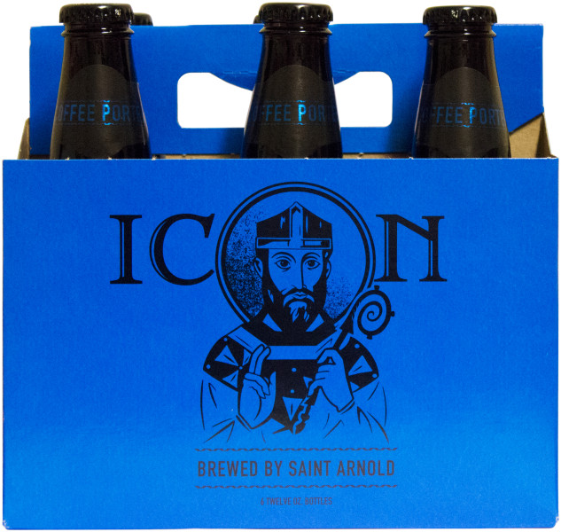 Saint Arnold - Icon Blue Coffee Porter (six pack)