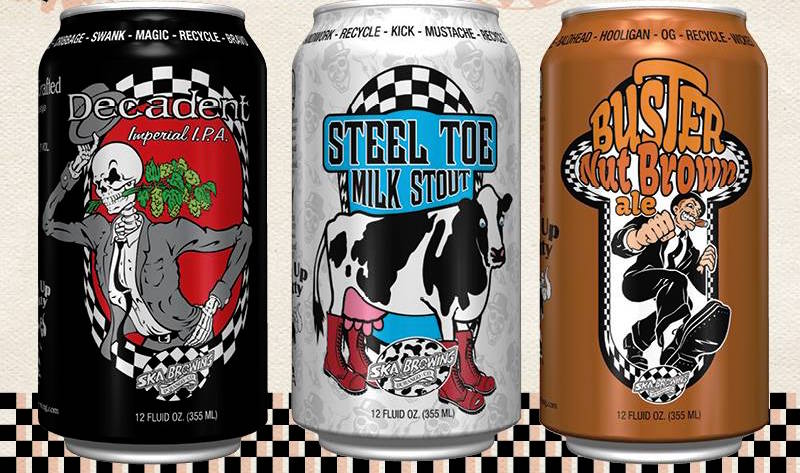 Ska Brewing Cans