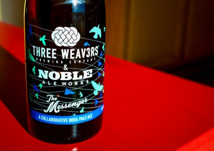 Three Weavers - Noble Ale Works - The Messenger w- Buddha's Hand and Yuzu - Small