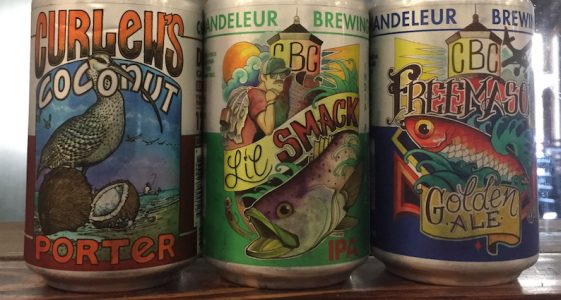 Chandeleur Brewing Cans