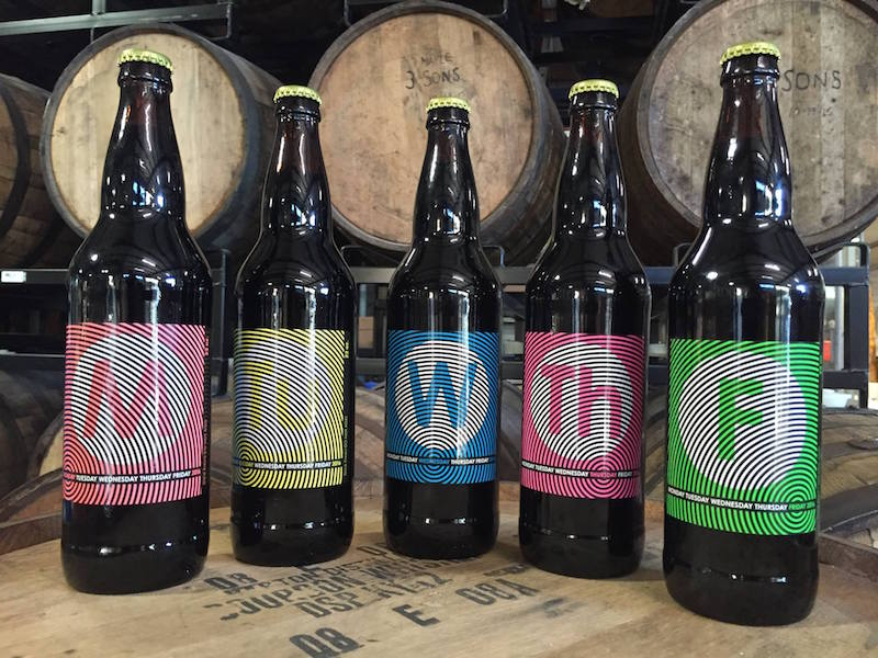 Cycle Brewing Weeday Release