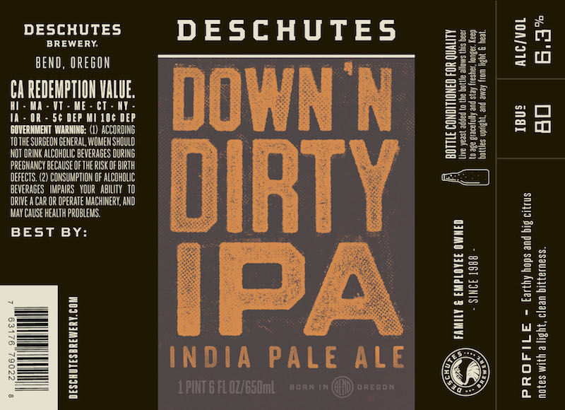 Deschutes Down n Dirty IPA