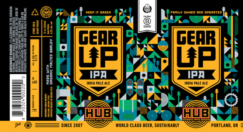 Hopworks Gear Up IPA