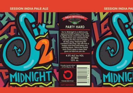 Mad Anthony Six 2 Midnight Session IPA