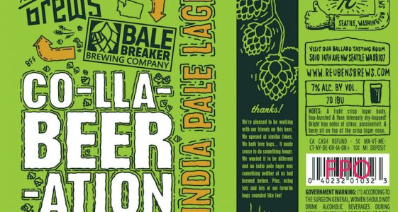 Reubens Brews Bale Breaker CollaBEERation