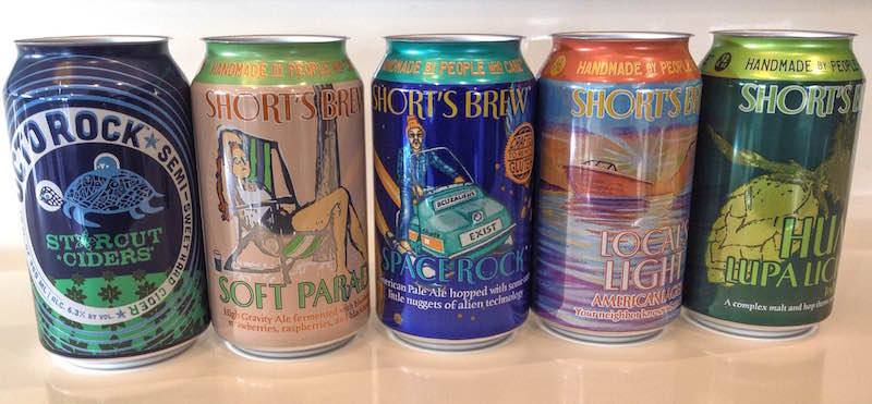 Shorts Brewing Cans