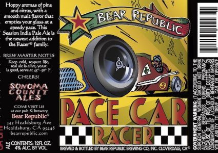 Bear Republic Pace Car Racer
