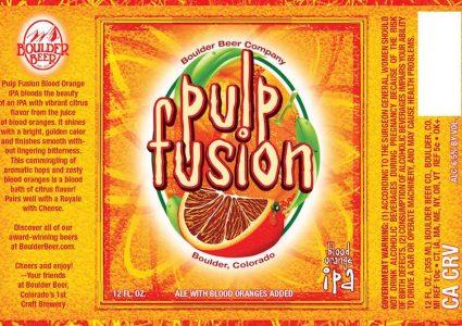 Boulder Beer - Pulp Fusion Blood Orange IPA