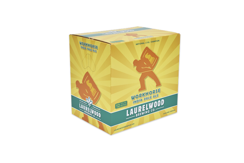 Laurelwood Workhorse IPA 12 Pack