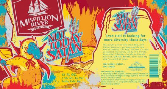 Mispillion River Not Today Satan IPA