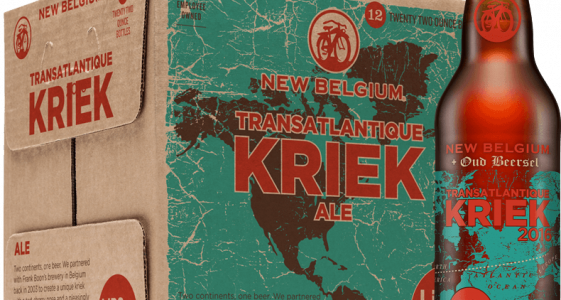 New Belgium Transatlantique Kriek 2016