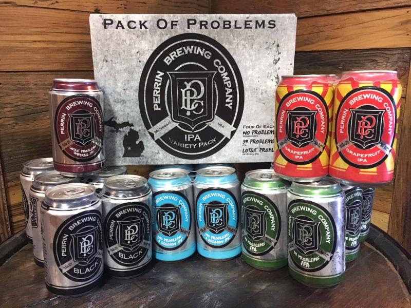 Perrin Brewing Cans