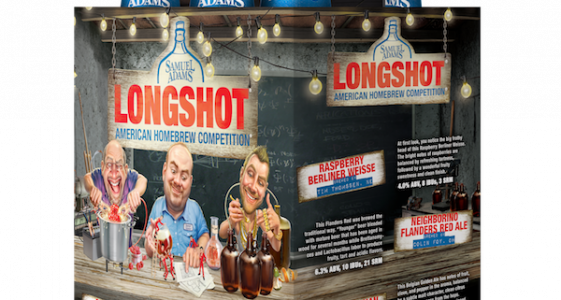 Sam Adams Longshot 2016 Package