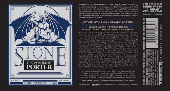Stone 6th Anniversary