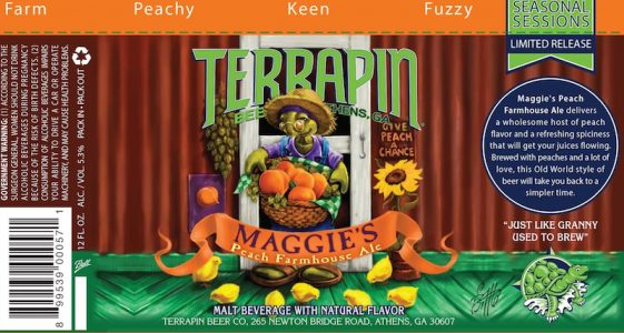Terrapin Maggie's Peach Farmhouse