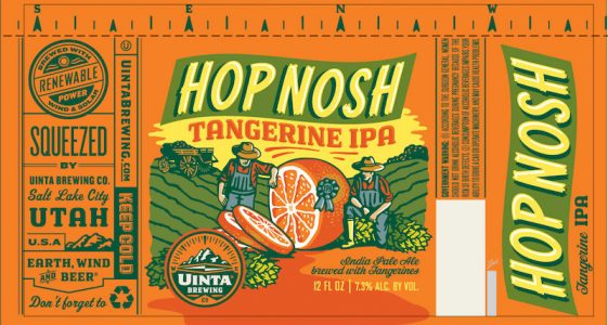 Uinta Hop Nosh Tangerine Can