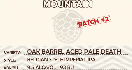 Double Mountain Oak Barrel Aged Pale Death
