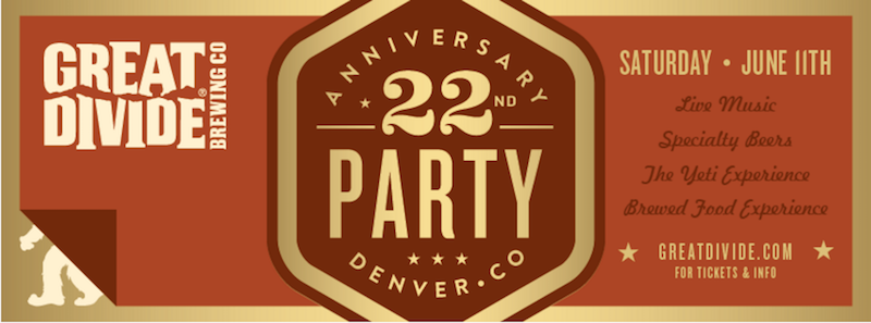 Great Divide 22nd Anniversary Party