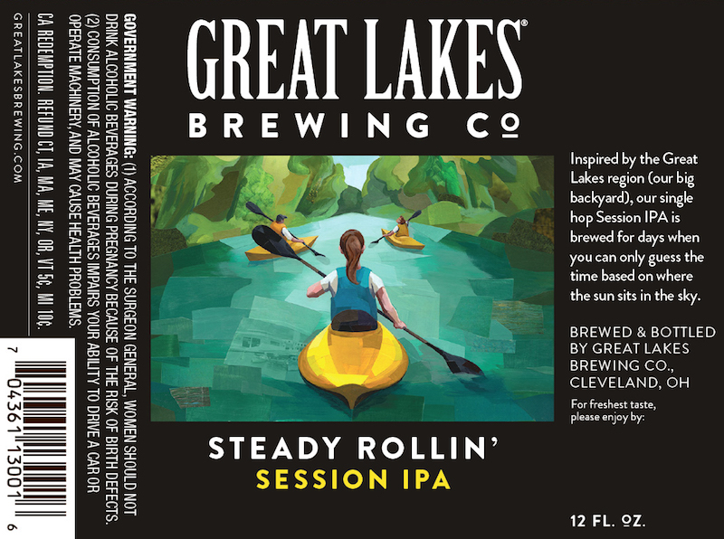 Great Lakes Steady Rollin Session IPA
