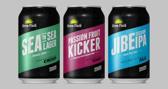 Green Flash Brewing Cans