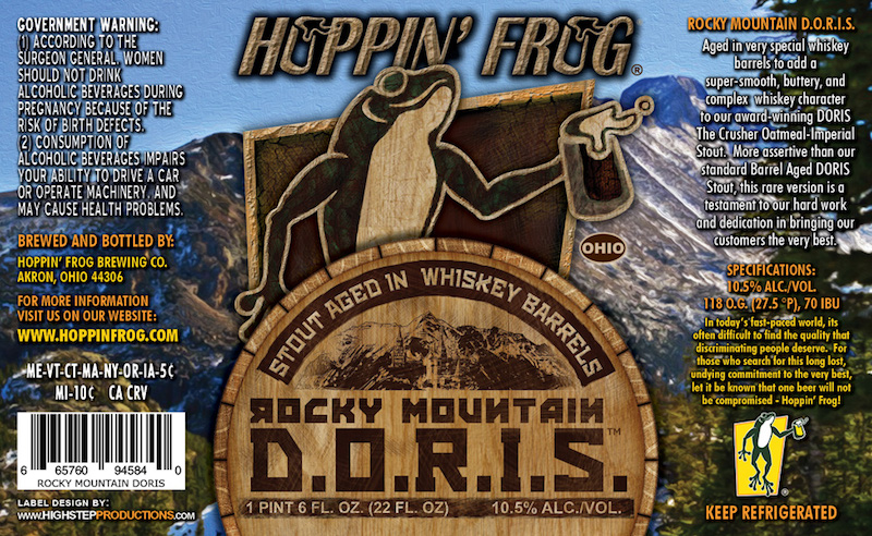 Hoppin Frog Rocky Mountain DORIS The Destroyer