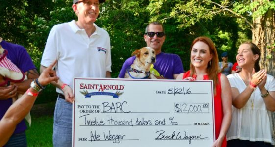 Saint Arnold Brewing - Ale Wagger Initiative - Barc Check