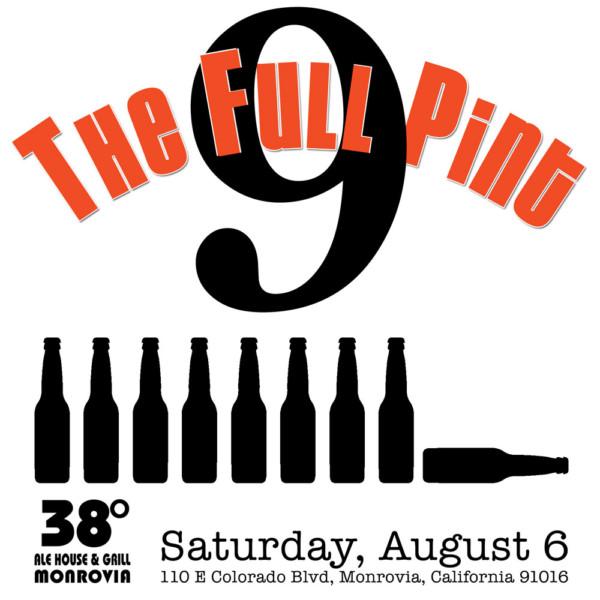The Full Pint 9th Anniversary Logo