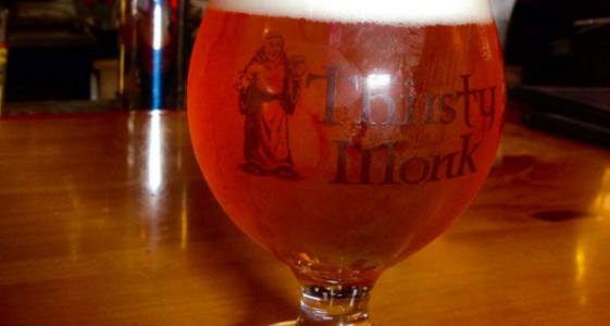 Thirsty Monk Glass