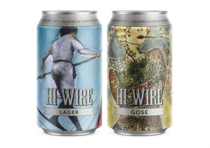 Hi-Wire Brewing - Lager & Gose Cans