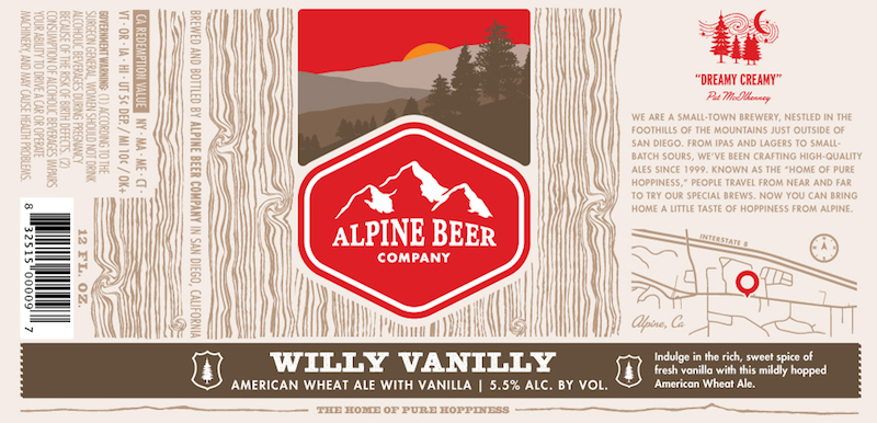 Alpine Beer Willy Vanilly