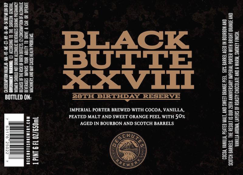 Deschutes Black Butte XXVIII