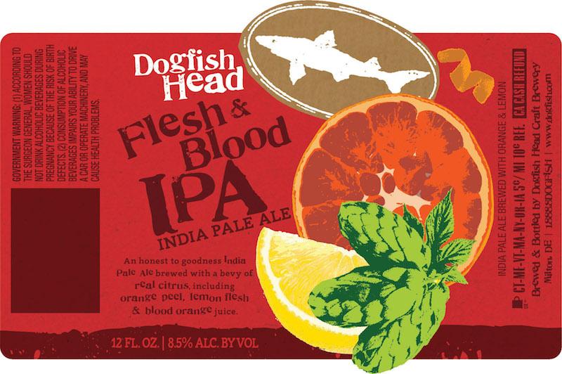 Dogfish Head Flesh & Blood IPA