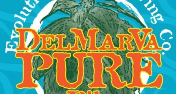 Evolution Craft Brewing DelMarVa Pure Pils