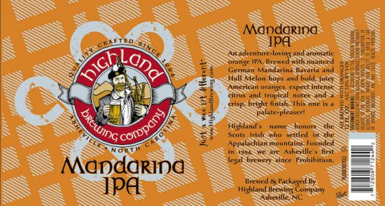 Highland Brewing Mandarina IPA