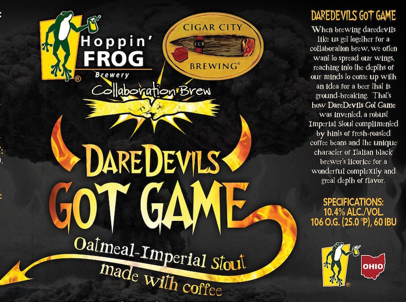 Hoppin Frog Cigar City DareDevils Got Game