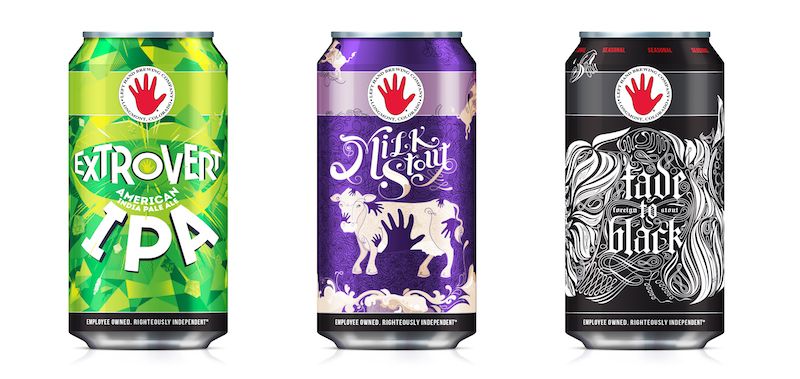 Left Hand Brewing Cans