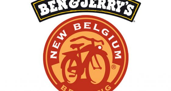 New Belgium Brewing and Ben & Jerry's Ice Cream