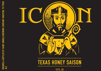 Saint Arnold Icon Gold Texas Honey Saison
