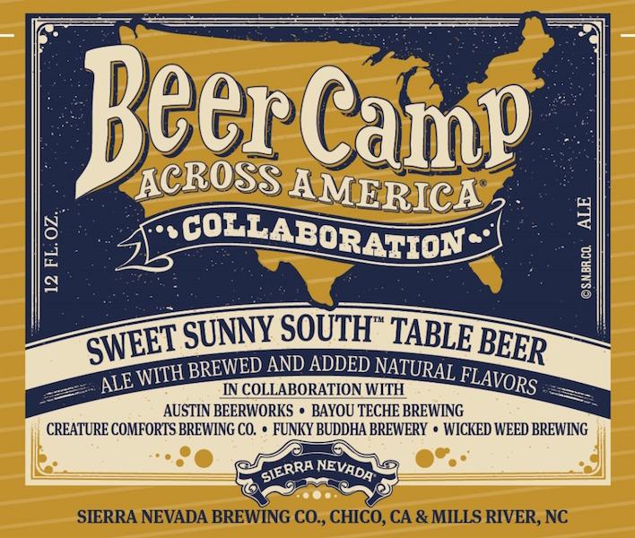 Sierra Nevadad Beer Camp Sweet Sunny South