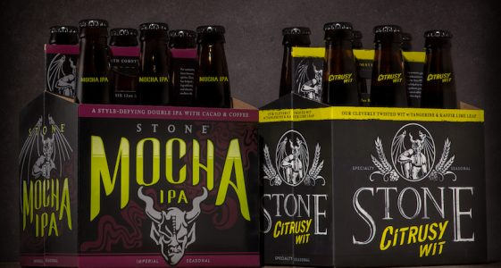 Stone Mocha IPA Citrusy Wit