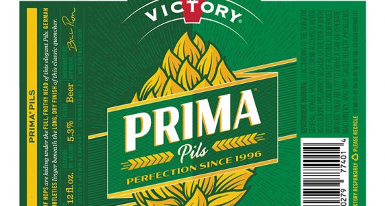 Victory Brewing - Prima Pils 2016