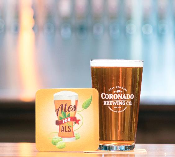 Coronado Brewing - Ales for ALS 2016