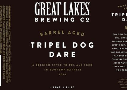 Great Lakes Brewing Barrel Aged Tripel Dog