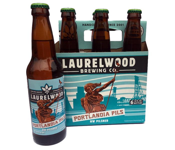 Laurelwood Portlandia Pils Six Pack
