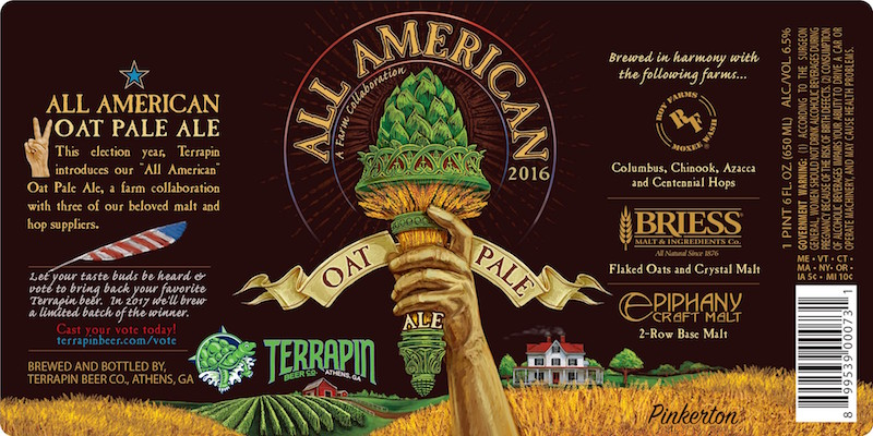 Terrapin Releases All American Oat Pale Ale • thefullpint com