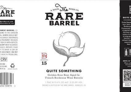 The Rare Barrel Quite Something