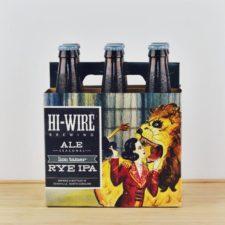 Hi-Wire Brewing - Lion Tamer Rye IPA