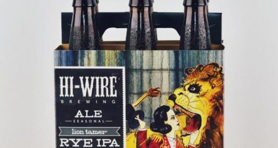 Hi-Wire Brewing - Lion Tamer Rye IPA